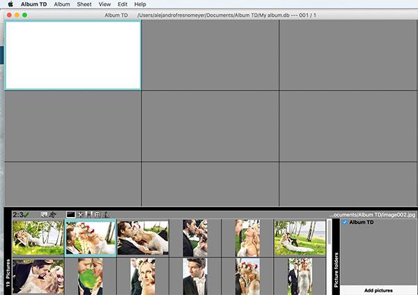 Design an album - Album TD - Album Design Software